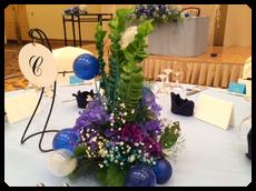 海藻風ゲストテーブル