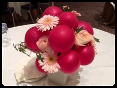 花とバルーン