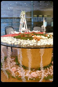 結婚式メインテーブル